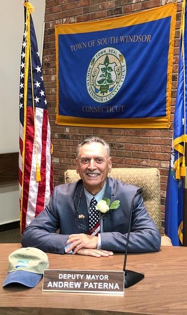 Deputy Mayor Andrew Paterna