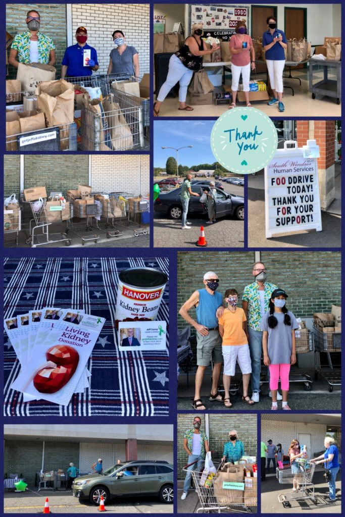 Collection of Photos from Food Drive