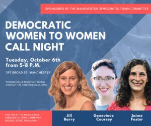 Democratic Women to Women Call Night