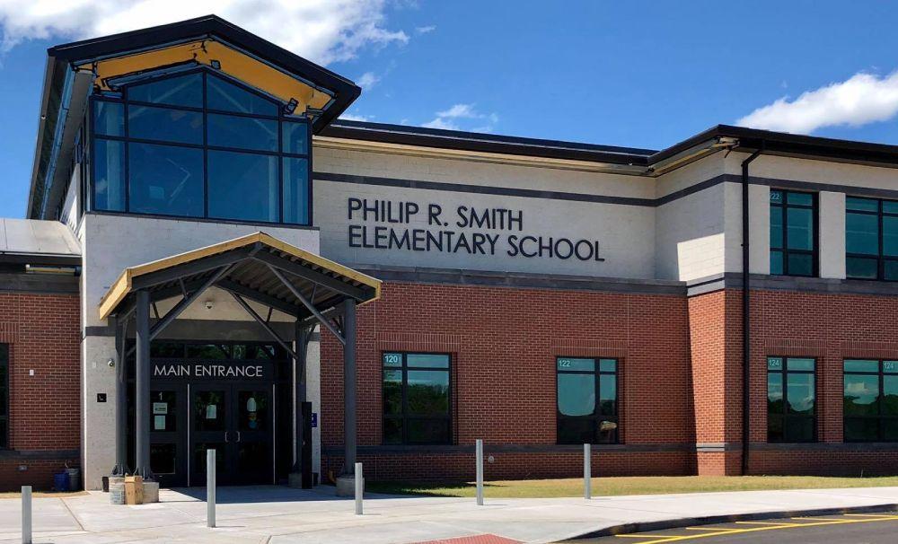 Philip R. Smith School Entrance