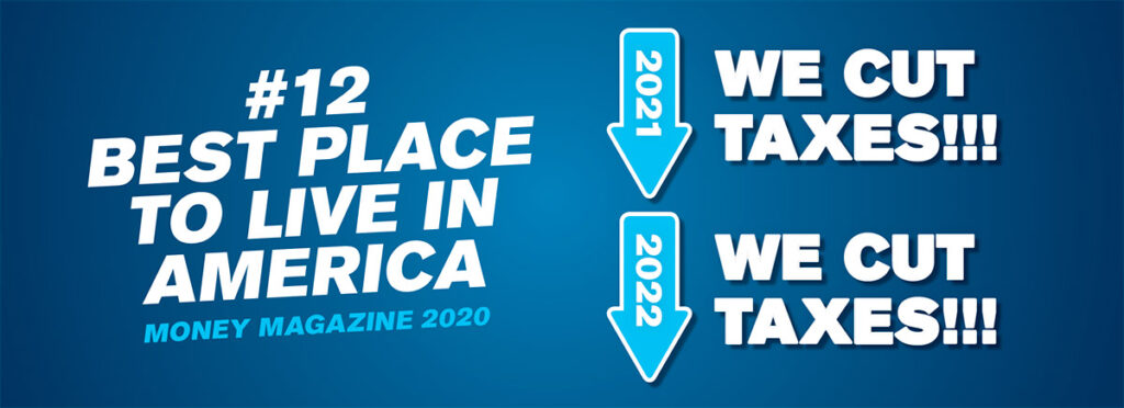 #12 Best Place to Live in America - We Cut Taxes