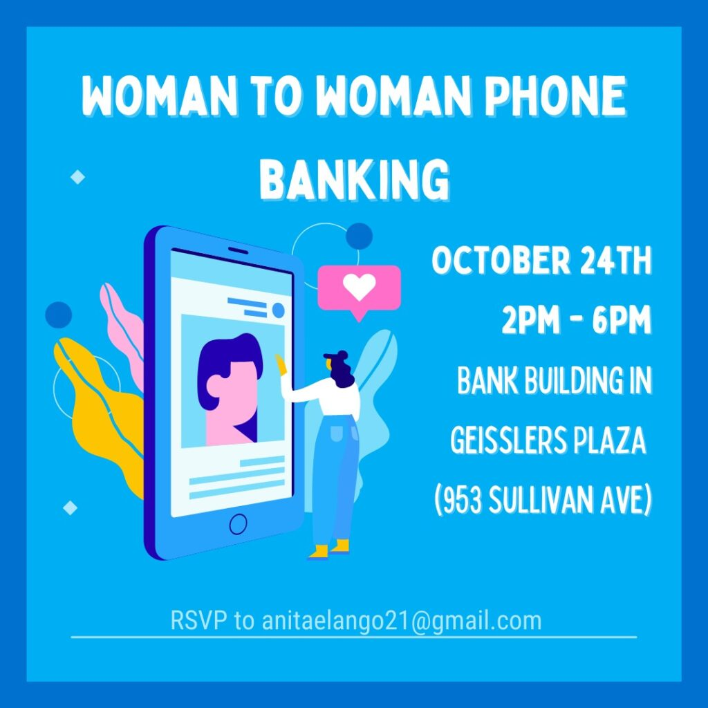 Woman to Woman Phone Banking info